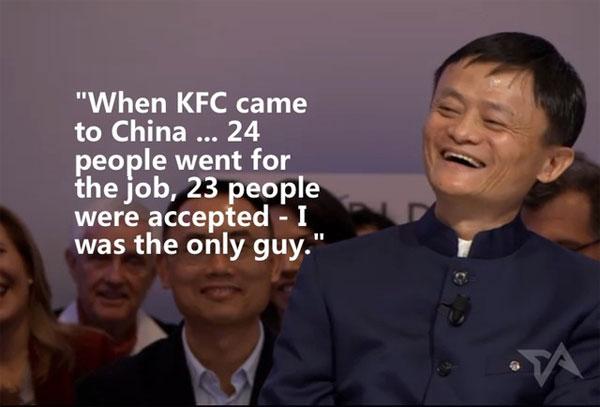 Những câu nói kinh điển của Jack Ma đầu năm 2015