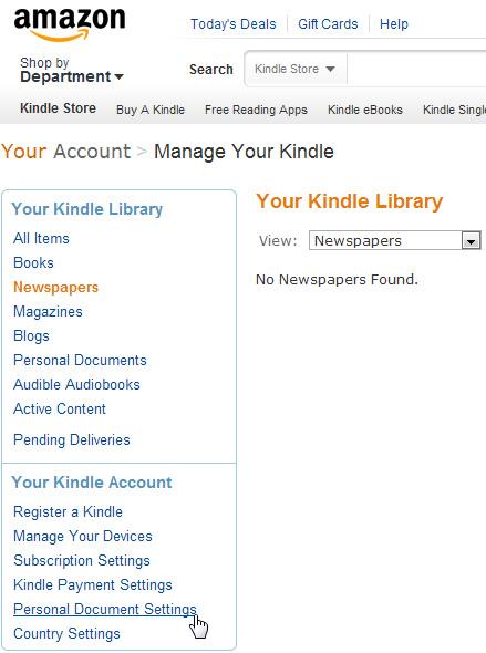Hướng dẫn chuyển ebook vào chiếc Amazon Kindle - Ảnh minh hoạ 4