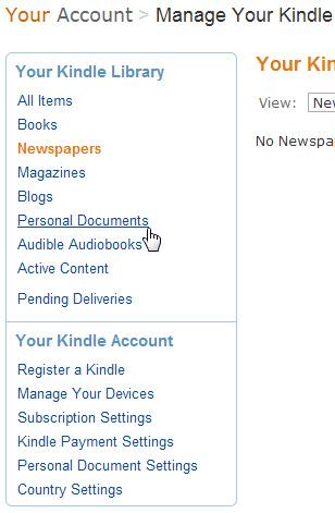 Hướng dẫn chuyển ebook vào chiếc Amazon Kindle - Ảnh minh hoạ 7