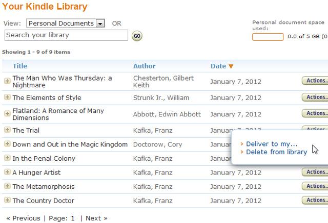 Hướng dẫn chuyển ebook vào chiếc Amazon Kindle - Ảnh minh hoạ 8