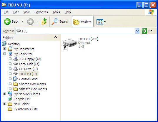 Xuất hiện loại virus mới bùng phát qua USB