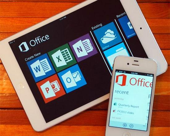 Microsoft Office cho Android, iOS ra mắt vào 2014