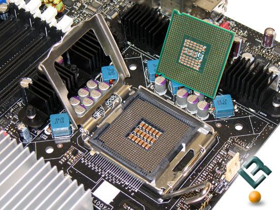 CPU trên mainboard