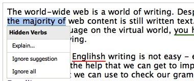 """Công cụ hữu ích giúp """"check"""" lỗi chính tả và ngữ pháp Tiếng Anh"""