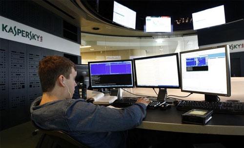 """Kaspersky Lab """"bị hack bởi một nhà nước"""""""