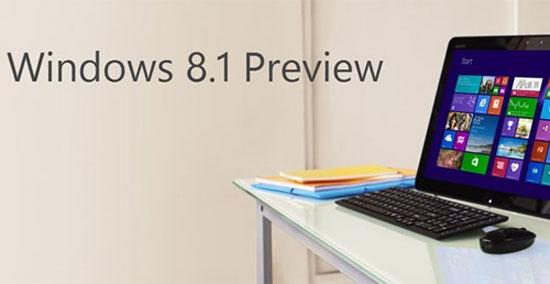 Windows 8.1 Preview không còn tích hợp Facebook và Flickr
