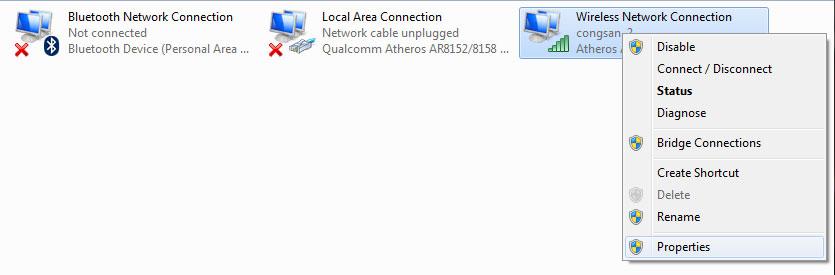Đặt lại IP tĩnh cho máy tính