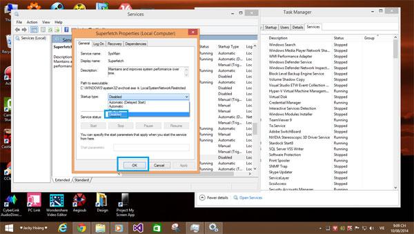 Hướng dẫn sửa lỗi Full Disk 100% trên Windows