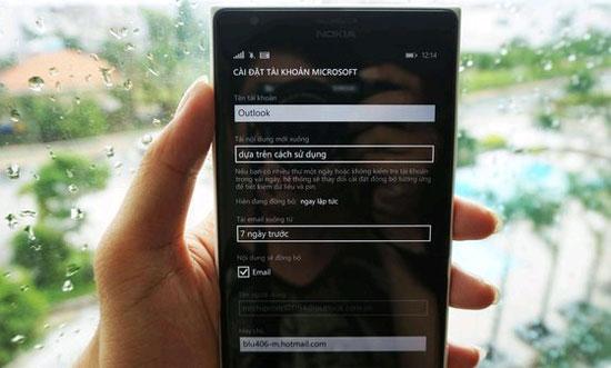 Hướng dẫn tạo tài khoản Microsoft cho Windows Phone