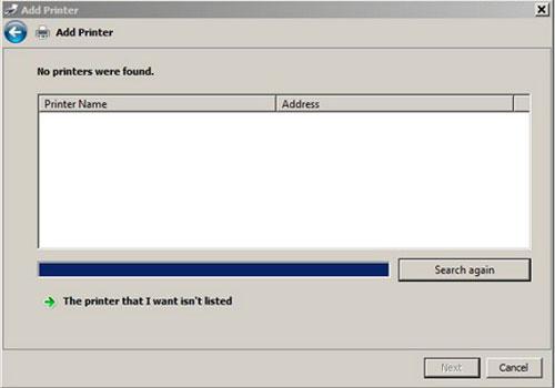Làm gì nếu Windows không thể kết nối với máy in?