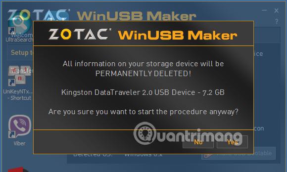 Tạo USB boot