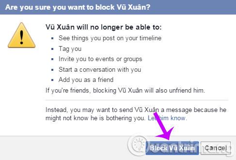 Cách chặn nick Facebook, chặn lời mời khó chịu như thế nào? - Ảnh minh hoạ 4