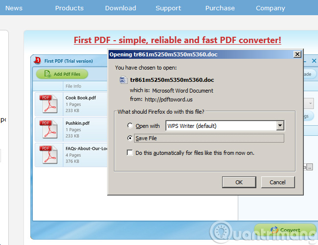 pdf file convert to word file download