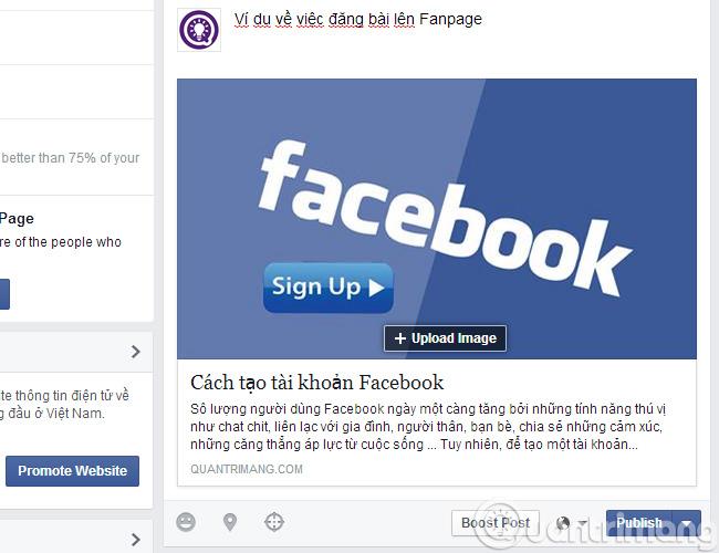Cách hẹn giờ đăng bài lên Fanpage trên Facebook - Ảnh minh hoạ 8