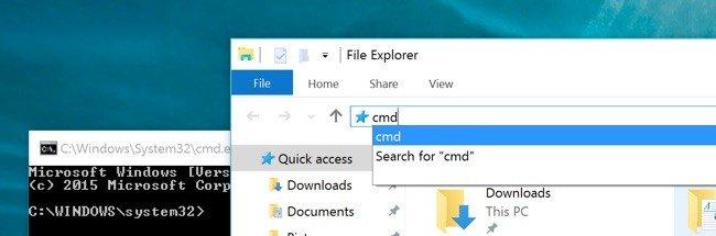Thanh địa chỉ Explorer