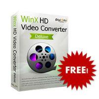 Miễn phí bản quyền phần mềm chuyển đổi video Win X HD Video Converter Deluxe