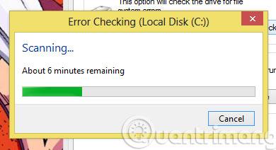 Chờ đợi để phần mềm kiểm tra