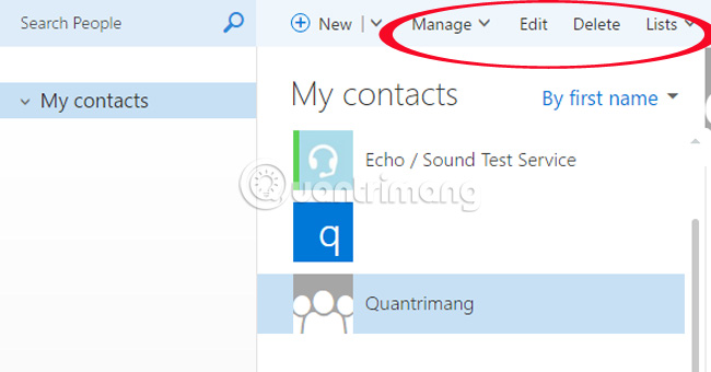 how to make group email in hotmail 2016