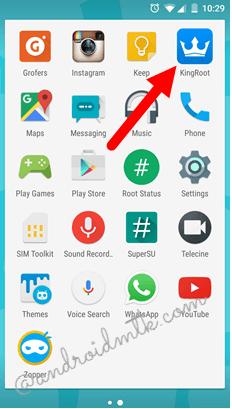 biểu tượng ứng dụng trên Menu Launcher