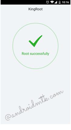 root thành công