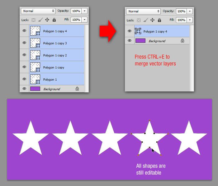 Tạo Editable Vector