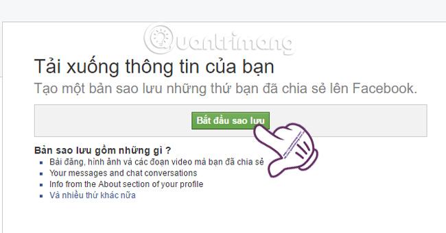 Cách khôi phục tin nhắn bị xóa trên Facebook