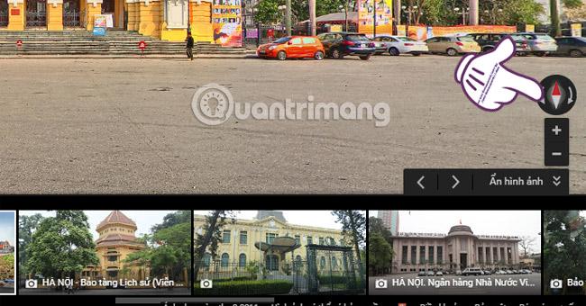 Xem trước hình ảnh nơi cần đến trên Google Maps