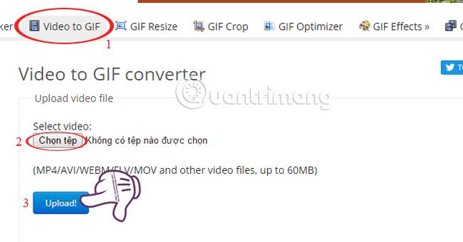 Cách chỉnh sửa ảnh GIF bằng công cụ EZGIF