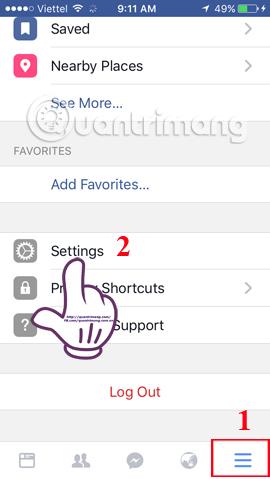 Chặn lời mời chơi game trên Facebook