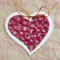 Cách làm thiệp 20 – 10 hình trái tim đơn giản, ngọt ngào