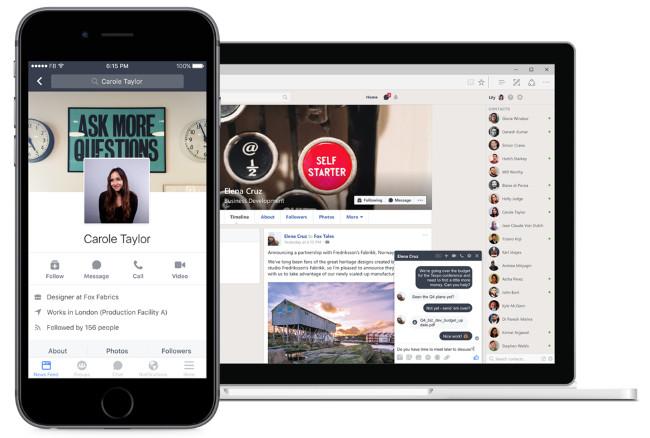 Facebook đã chính thức ra mắt đối thủ cạnh tranh của Slack Facebook Workplace.