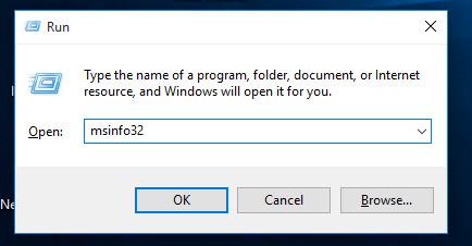 Nhấn tổ hợp phím Windows + R để mở cửa sổ lệnh Run