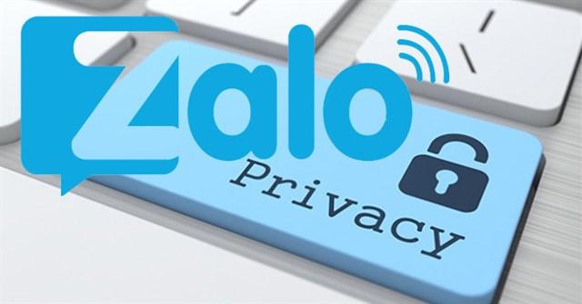 Hướng dẫn ẩn thông tin cá nhân trên Zalo