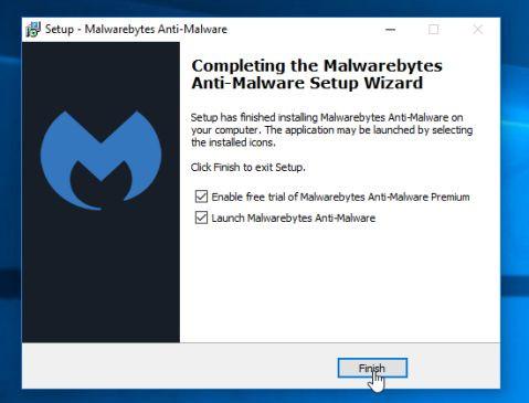 Click chọn Next để thực hiện cài đặt Malwarebytes Anti-Malware