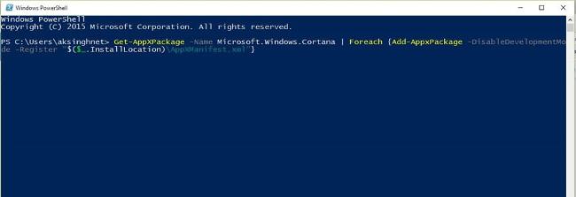 Không tìm thấy bất kỳ ứng dụng nào trên Windows Search