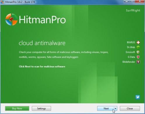 Tải HitmanPro về máy và cài đặt