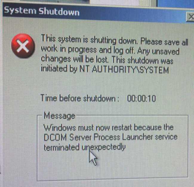 Thông báo khi máy bị nhiễm virus Blaster