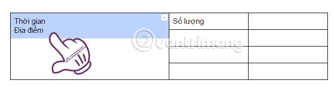 Gộp cộp Google Docs