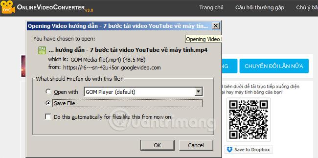 Tải video YouTube về máy tính hoặc điện thoại