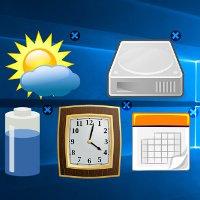 Cách cài Gadget cho Windows 10