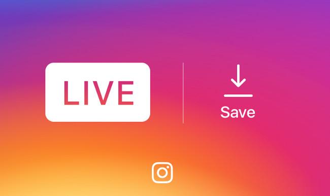 Instagram đã cho phép người dùng lưu lại live video