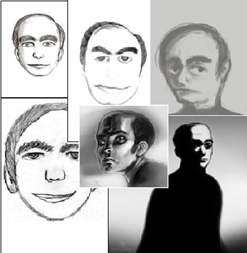 Những hình ảnh khác nhau về người đàn ông bí ẩn