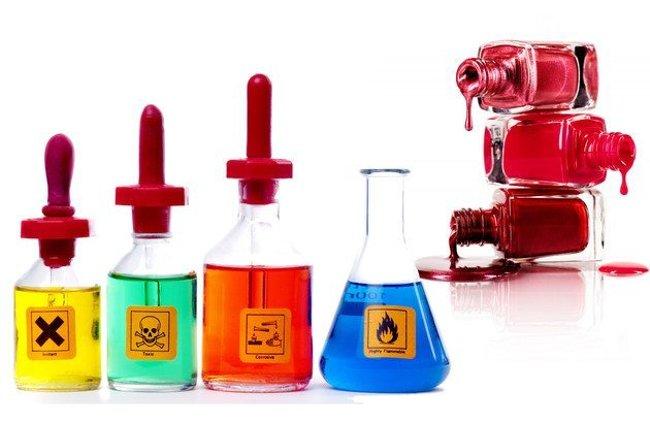 Sơn móng tay chứa nhiều hóa chất độc hại