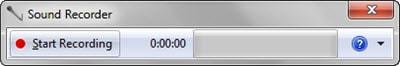 Bấm nút Start recording để ghi âm