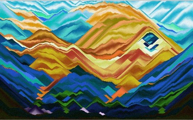 Vẽ với cát