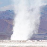 Lốc xoáy pha lê trên đỉnh Andes, hiện tượng chưa từng xuất hiện trong lịch sử