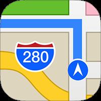 Cách bật la bàn trên Apple Maps