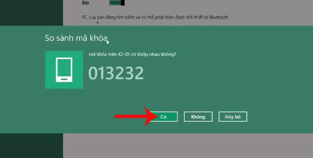 Mã số kết nối 2 thiết bị Bluetooth