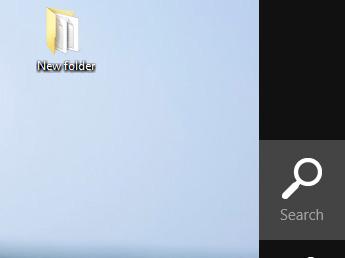 Biểu tượng tìm kiếm trên Windows 8