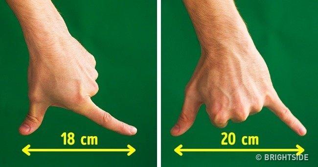 Đo khoảng cách bằng tay